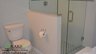 Basement Bathroom Glass Shower Watertown