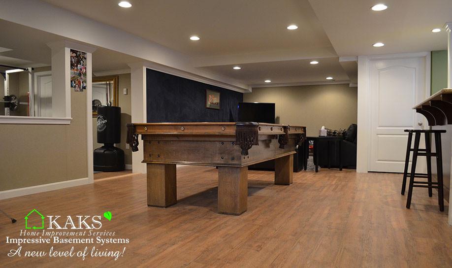 basement recreation rooms kaks basement finishing design