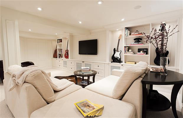 finish basement south shore-basement remodeling design company