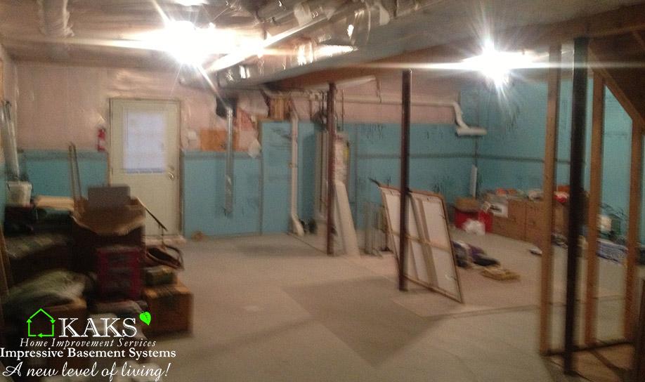 a finished basement by kaks before kaks basement