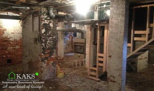 Before & After Photos of basements in Boston Area