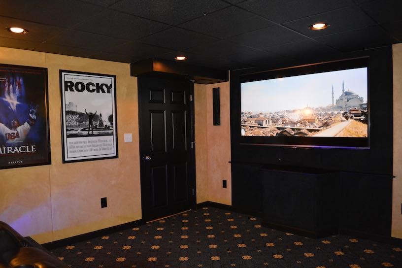 movie room bonus kaks basement finishing home renovations