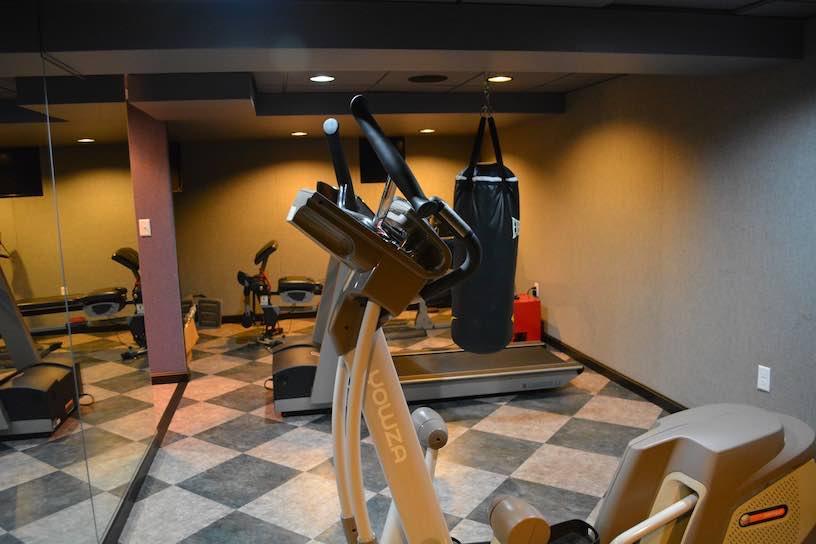 Home Gym Design: Basement Home Gym Ideas-Boston -South Shore