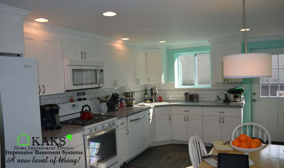 kitchen in basement ma kaks basement finishing home