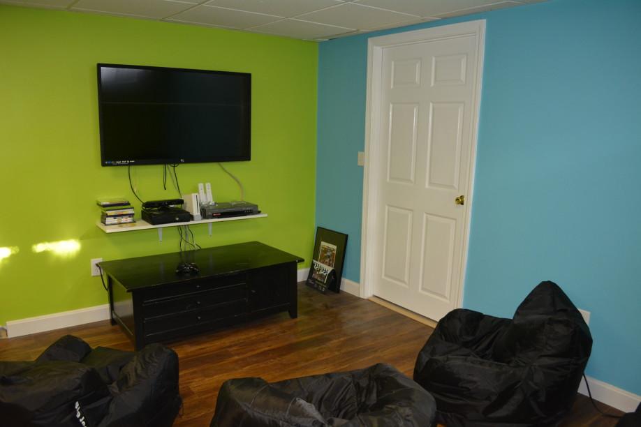 Remodel Basement For Kids To Play Video Games Kaks Basement Finishing Home Renovations