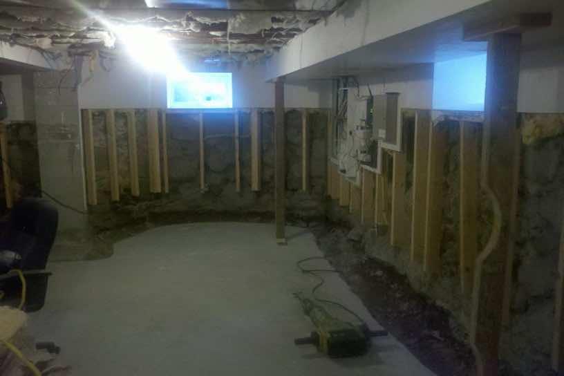 basement finishing before after photos kaks basement