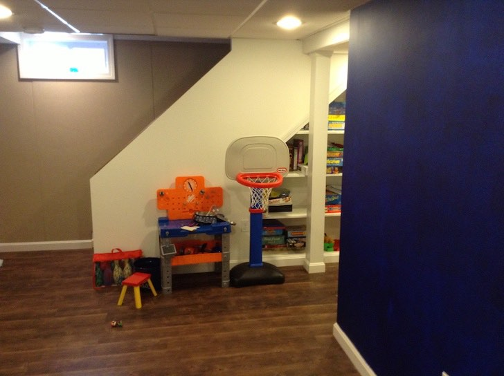 Milton Ma  finished basement
