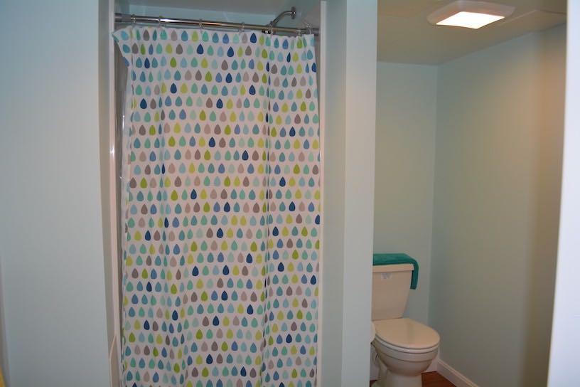 Boston basement Kitchen & bath remodeled