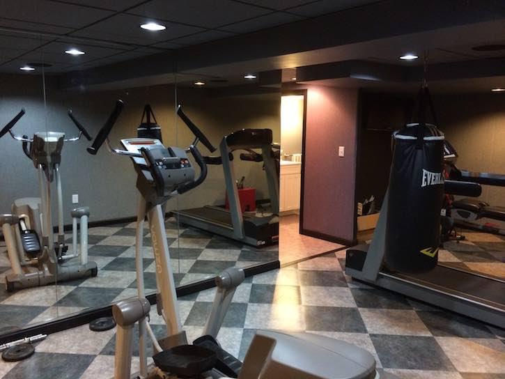 Basement home gym ideas boston ma south shore cape cod