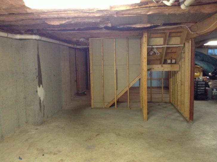 basement finishing before after photos boston ma south