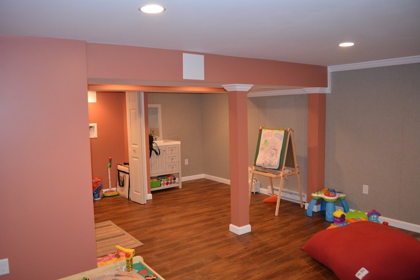 Basement Play Room Milton Ma.