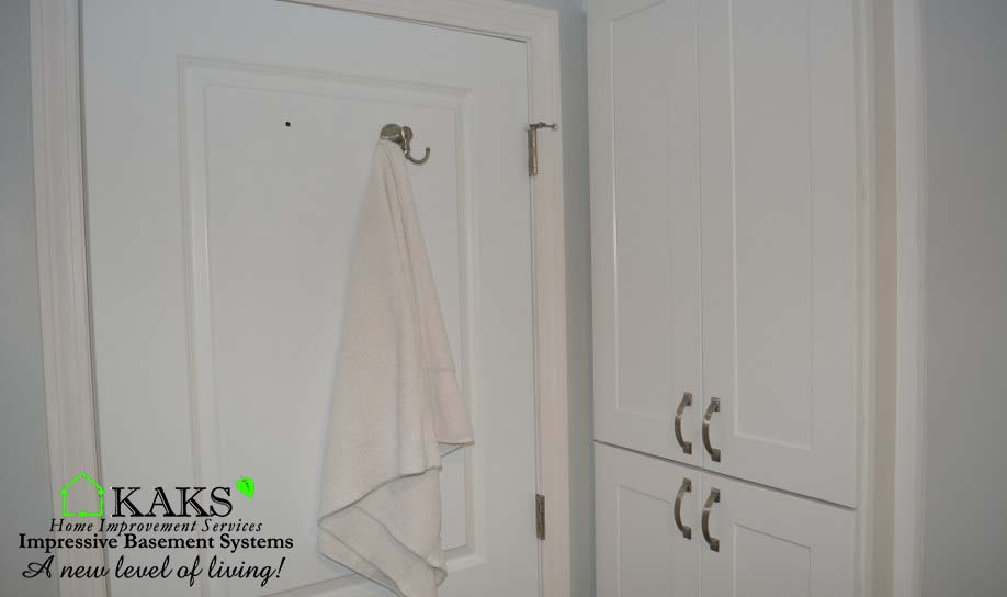 Basement Bathroom Finishing In Plymouth MA.