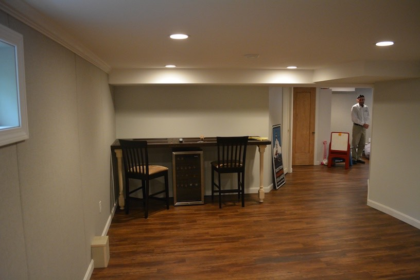 KAKS Basement Finishing & Remodeling Wall Systems