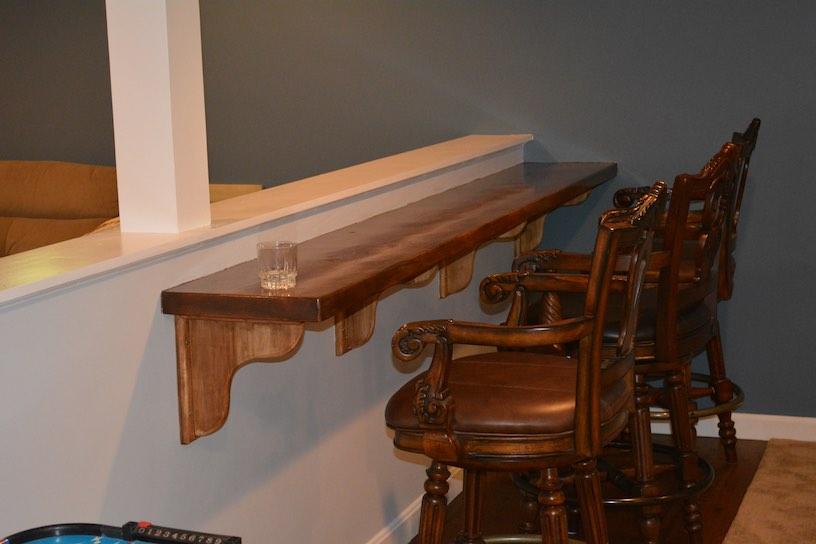 Basement Bar Ideas In Peabody