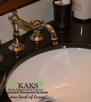Basements Built By KAKS Basement Design