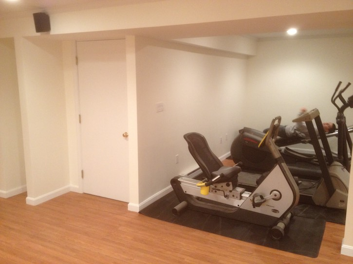 Basement Home Gym Ideas Boston MA South Shore Cape Cod Kaks Enchanting Basement Remodeling Boston
