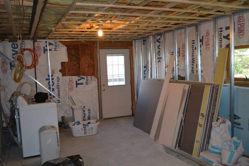 basement finishing before after photos boston ma south shore