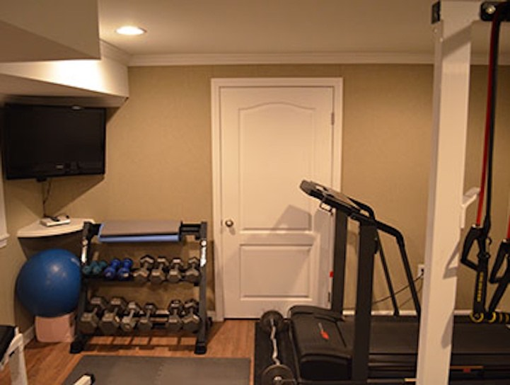 Basement Home Gym Ideas Boston MA South Shore Cape Cod Kaks - Basement gym ideas