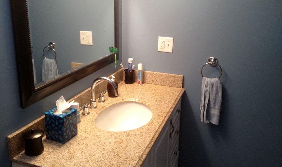KAKS Basement Bath Design