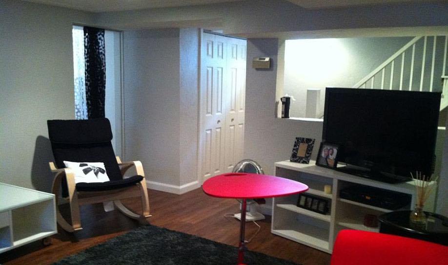 Basement Living Spaces
