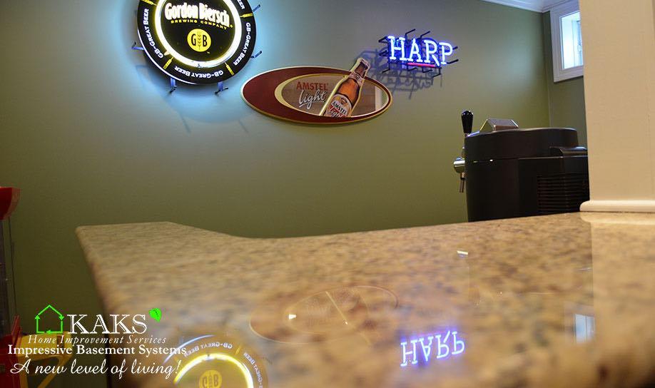 Basement Bar Hanover Ma.