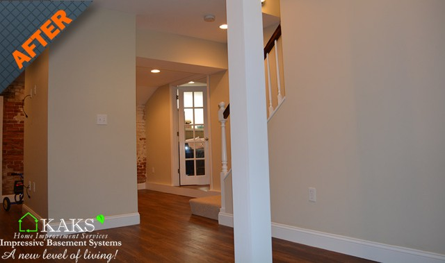 basement finishing, basement refinishing, basement remodel boston, MA ,Massachusetts, contractors, company, after